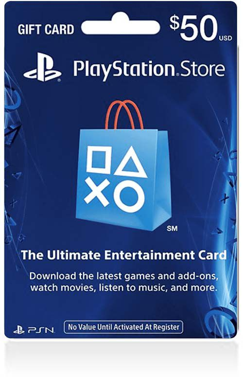 $50 PSN Gift Card (US)