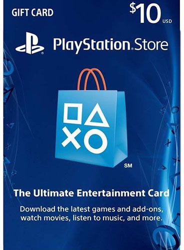 $10 PSN Store Card (US)