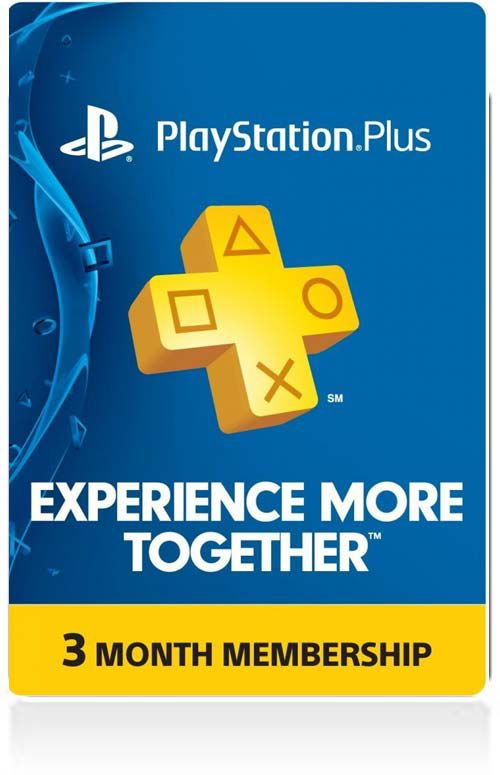 PSN PLUS 3-MONTH MEMBERSHIP Card (US)