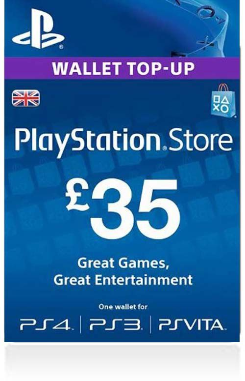 £35 PSN Gift Card (UK)