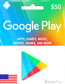 $50 Google Play Store Card