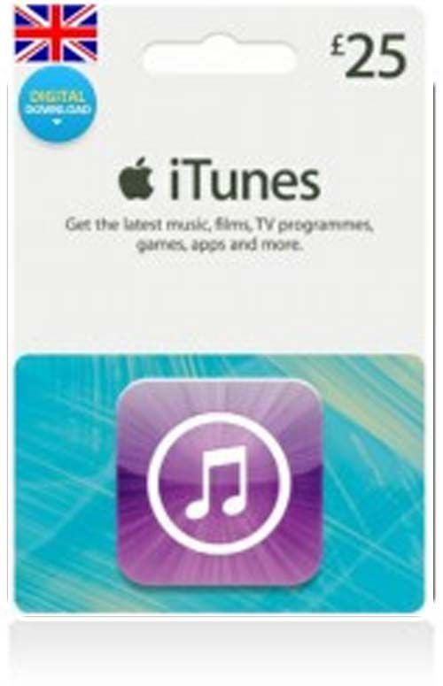 £25 iTunes Gift Card (UK)