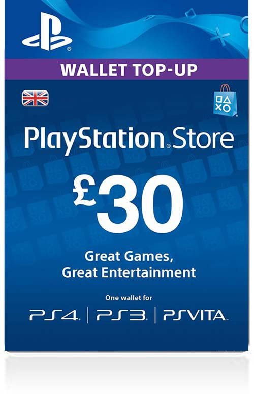 £30 PSN Gift Card (UK)