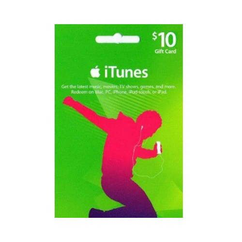 $10 iTunes Gift Card (US)
